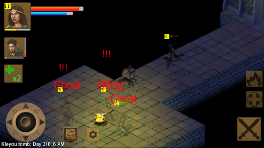 Exiled Kingdoms RPG Apk Download For Android and Iphone 6