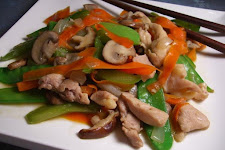 Oriental Stir Fried Chicken