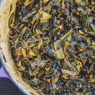 Garlicky Oven Roasted Greens