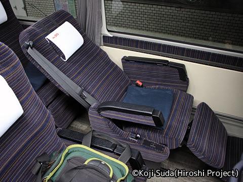 函館バス「高速はこだて号」 T3267 シート フルリク時