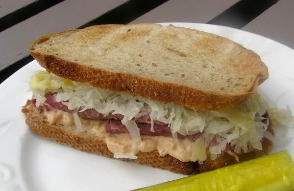 Reuben Sandwiches - Microwave