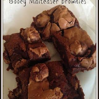 Gooey Maltesers brownies.