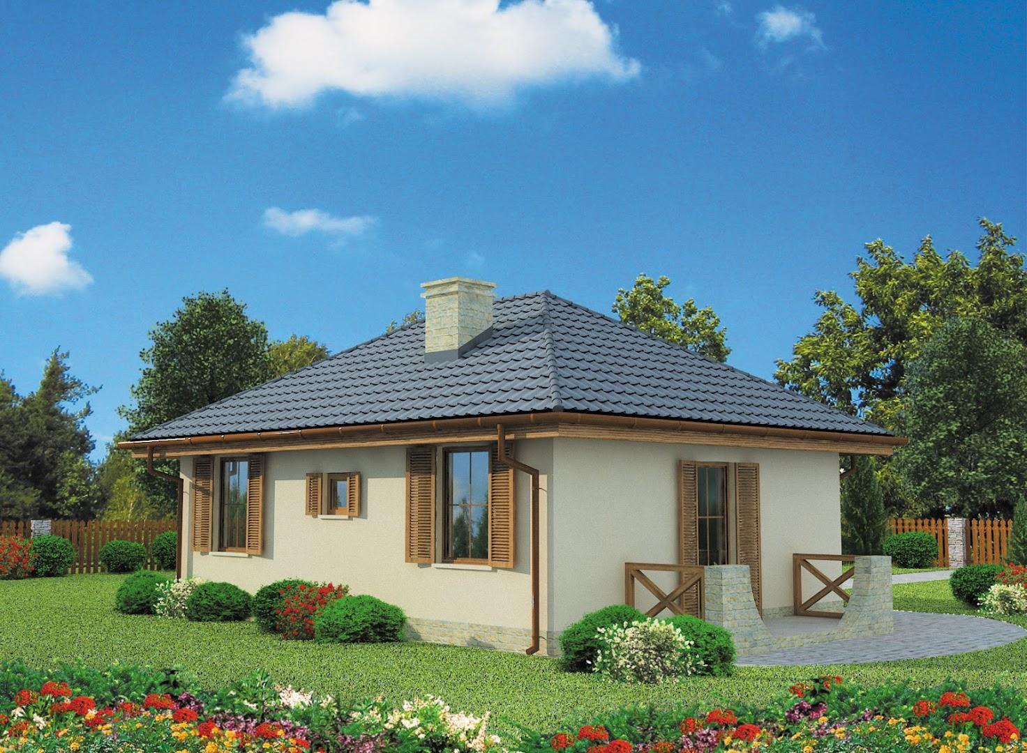 Projekt domu bayamo thj 981 for Piccole planimetrie di piccole case
