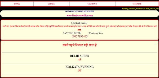 Satta King - Gali Desawar Faridabad result - Apps on Google Play