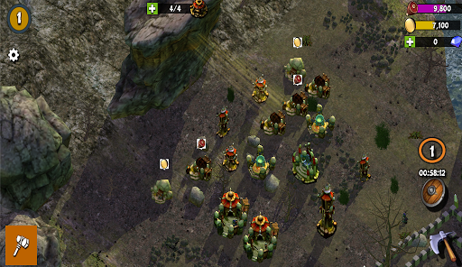 Clash Of Orcs Tower Defense