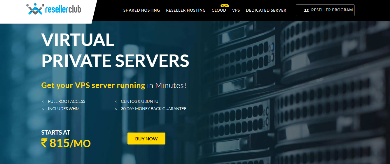 Reseller Club VPS Hosting
