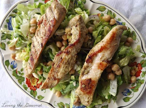 Grilled Boneless Chicken Breast With Green Tomato Recipe
