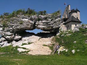 Photo: B5260041 Bobolice - ozywione ruiny zamku