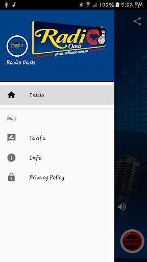 Radio Oasis 1.0 screenshots 2