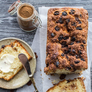 Easy Cinnamon Raisin Quick Bread