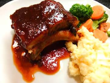 Tender, Moist, Delicious BBQ Pork Ribs