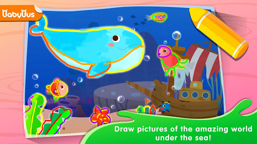 Baby Panda's Drawing Book - Painting for Kids screenshot 1