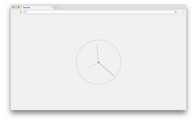Ticker: A Minimal Clock for Your New Tab Page