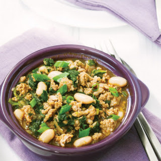White Turkey Chili with Kale Recipe