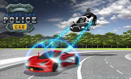 飞行警察电动汽车模拟