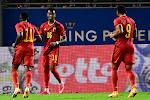 Belgische beloften boeken vlotte overwinning tegen Wales en staan aan de leiding in hun groep