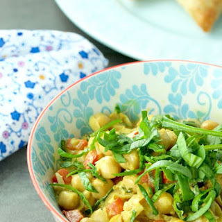 Quick Chickpea Curry Easy Dinner.