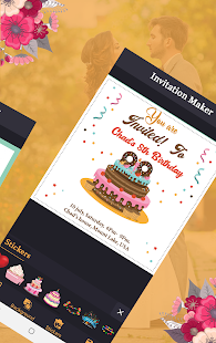 Download Invitation card maker & greeting cards making app For PC Windows and Mac apk screenshot 11