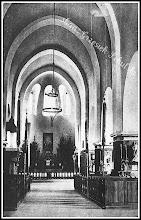 Photo: Wnętrze rudnickiego kościoła, przełom lat 20/30. (Skan zdjęcia udostępnionego przez Panią Zofię Chmiel)