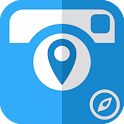 GPS Map Camera - Geo Camera icon