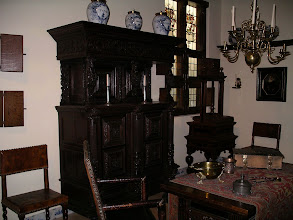 Photo: another corner in the 17th c. museum room