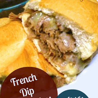 French Dip Sandwiches with Au Jus.
