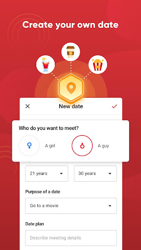 Date Up - Meet, Chat & Flirt Online 0.1.17 screenshots 3