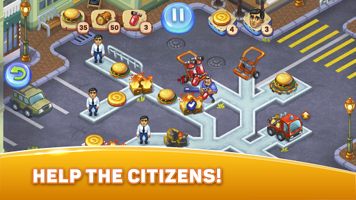 City Rescue Team: Time management game 1.6.0 screenshots 3