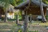 Sri. Lanka Kalpitiya Valampuri Resort. Traditional Coconut Cabana