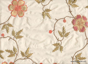 Photo: Mysore 41 - Mirage Series Embroidery - Cream
