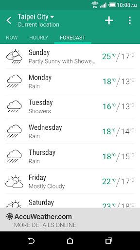 HTC Weather