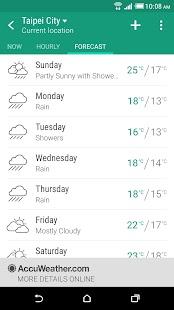 HTC Weather for PC-Windows 7,8,10 and Mac apk screenshot 3