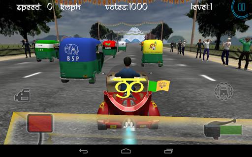 Race City Delhi- Rickshaw Rush screenshot 5