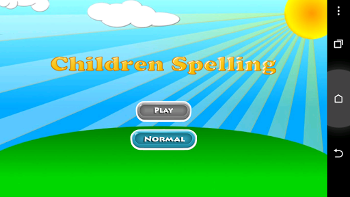 Children Spelling