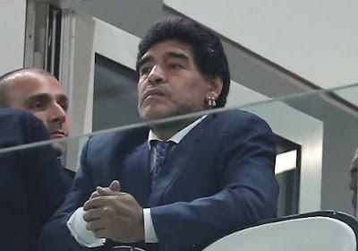 Maradona insulte Michel Platini