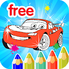 Kids Coloring For Cars icon