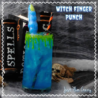 Kids Fun Witch Finger Punch.
