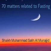 Islam - 70 matters Fasting
