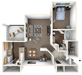 Floorplans Equinox On The Park Apartments In Garland Texas