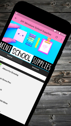 DIY Miniature School Supplies Offline  screenshots 2