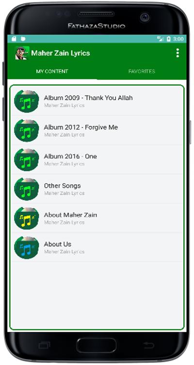 Maher Zain - Song + Lyrics APK Latest Version Download - Free Music