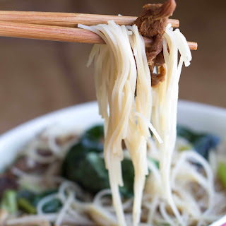 Chinese Mushroom Noodle Soup Recipe