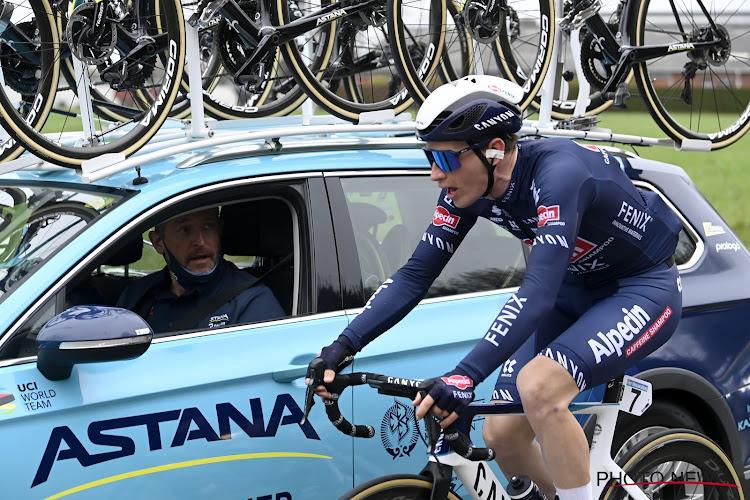 UPDATE: VAR neemt Otto Vergaerde en Astana-renner uit koers, ook Schär mag inpakken wegens weggooien drinkbus