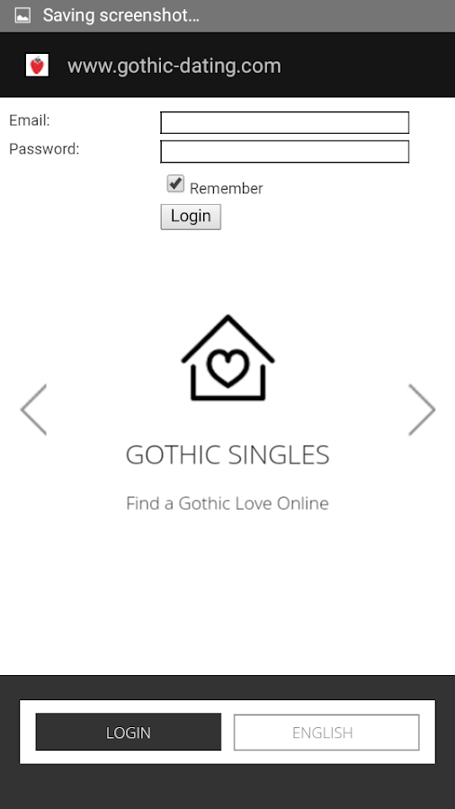 Gothic dating apps