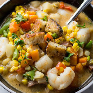 Corn Chowder with Shrimp Recipe