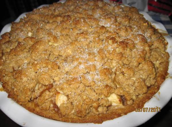Apple Stuffed Oatmeal Pie Recipe