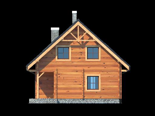 Bartne drewniane 6 - Elewacja prawa
