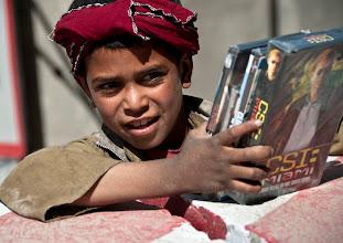 Photo:  Kabul area,04 october 2009: Footpatrol by the macedonians around Kabul.