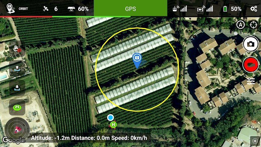 Litchi for DJI Phantom 2 Screenshot