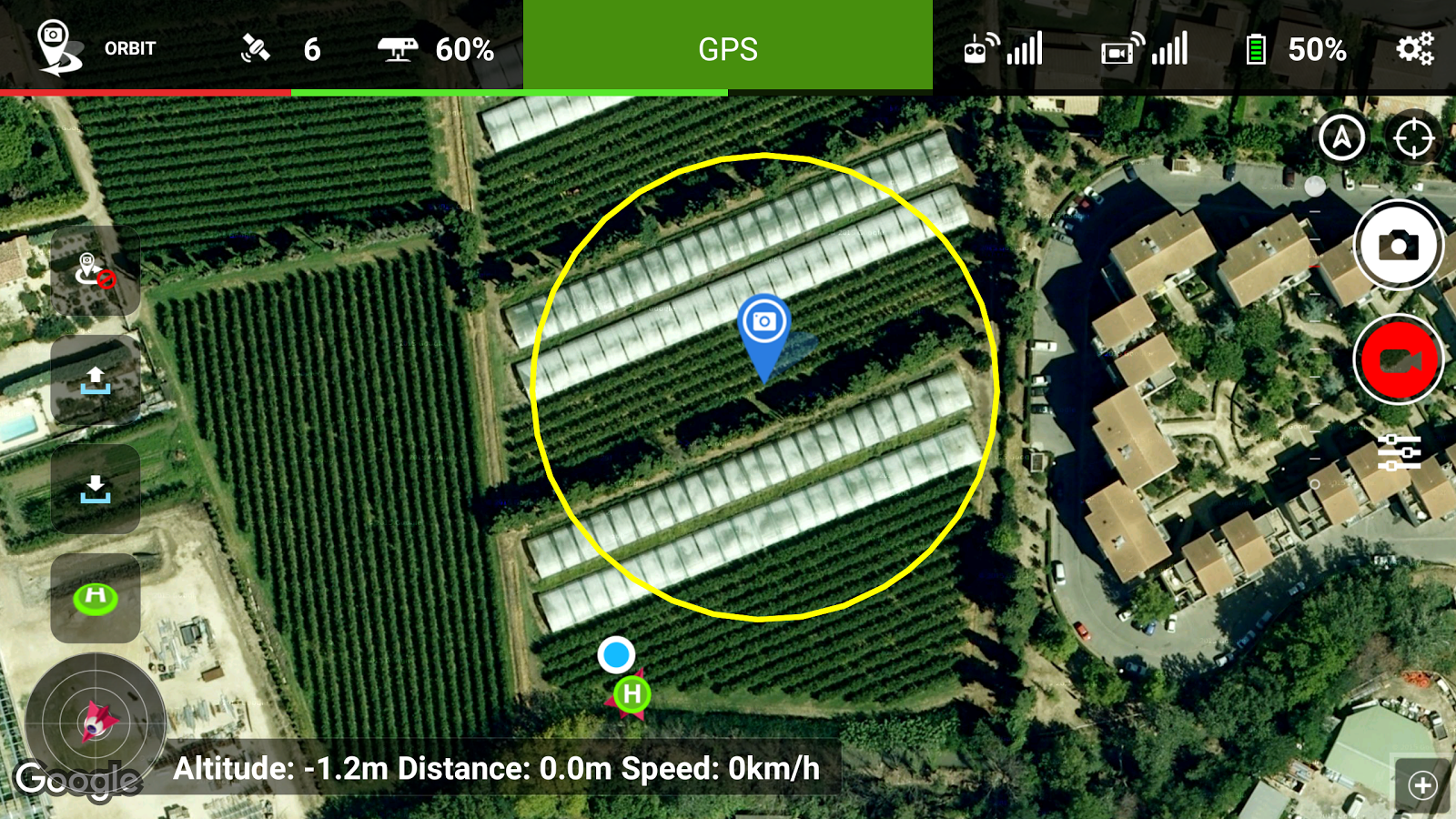 Litchi for DJI Phantom 2- screenshot